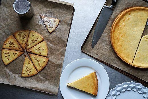 Photo of TORTA DELLA NONNA (pine nuts, powder sugar, cream cheese, goat ch