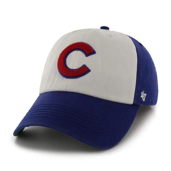 be5e94f868c Chicago Cubs 47 Brand Freshman Royal Adjustable Hat