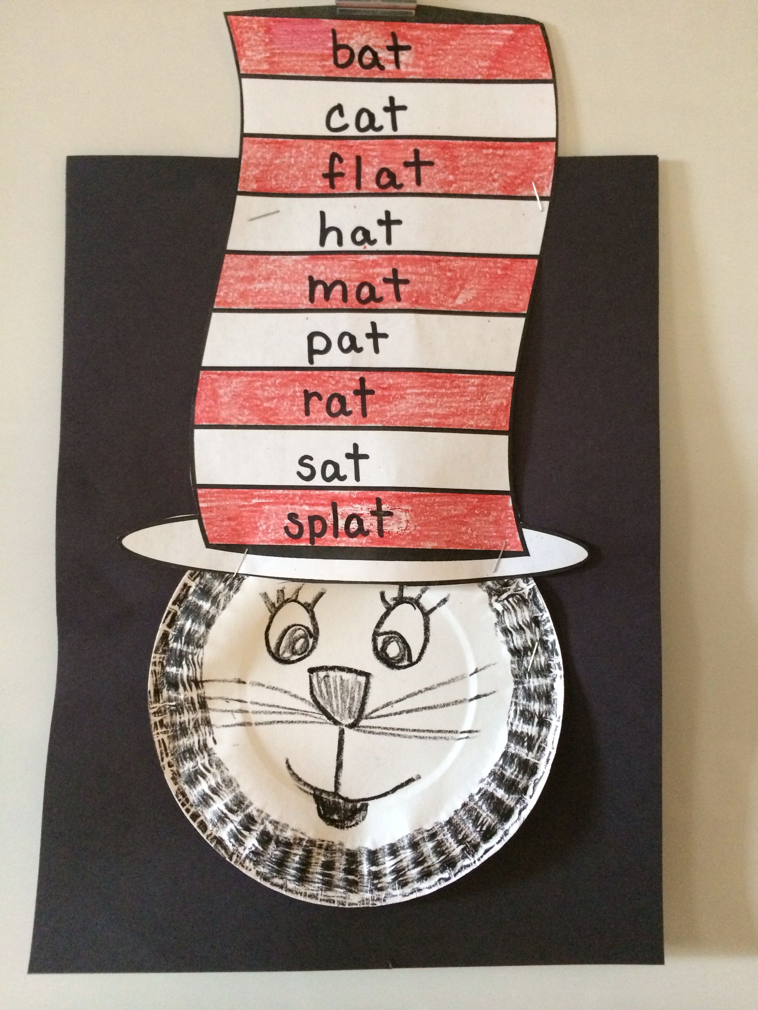 Cat In The Hat Rhyming Words Dr Seuss