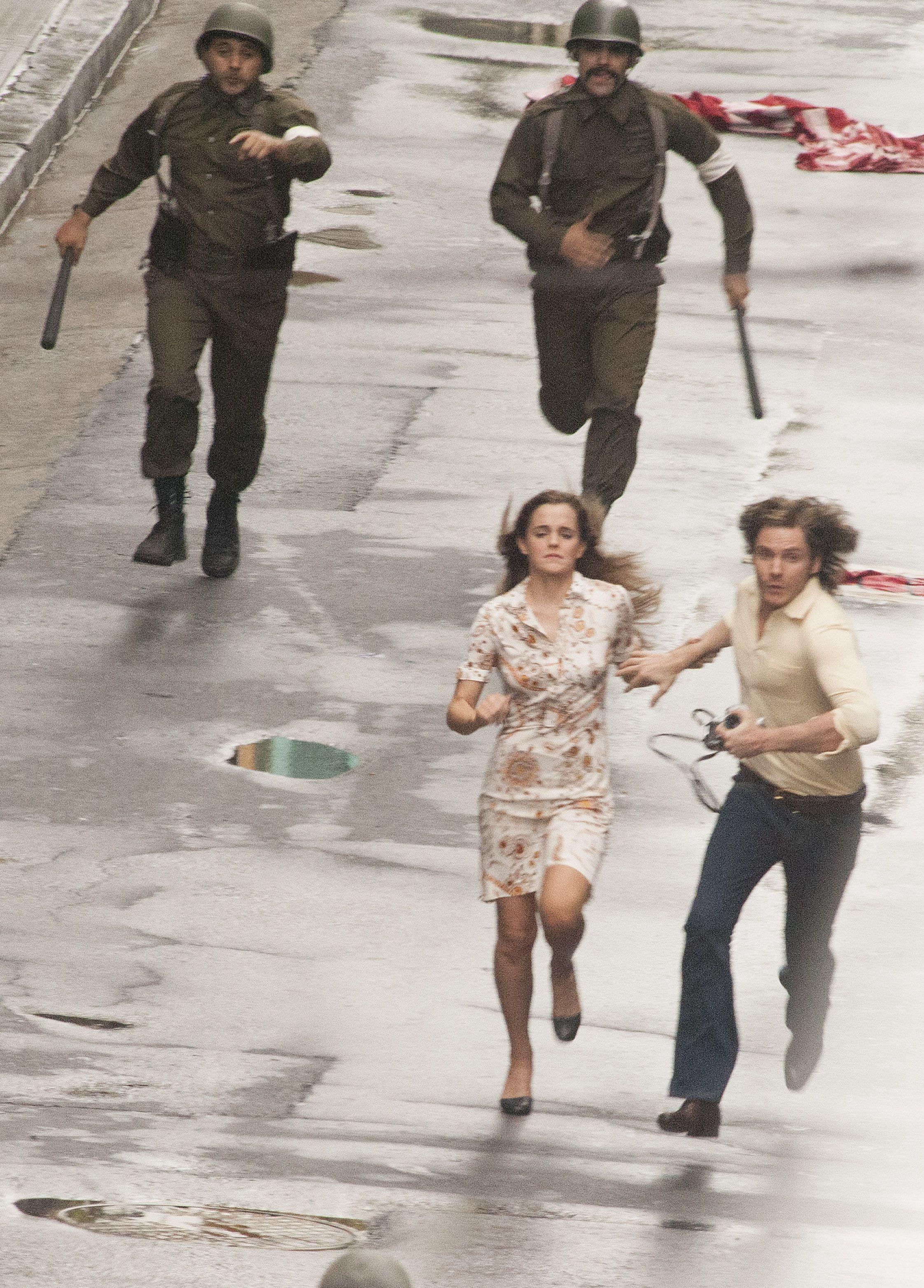 Actress Emma Watson In Argentina Shooting Colonia Emma Watson
