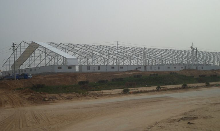 Warehouse Structures Storage Tent - Shelter tent can withstand 80