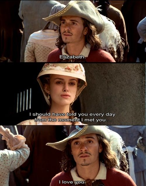 Will and Elizabeth | Pirates of the caribbean, Pirates ...