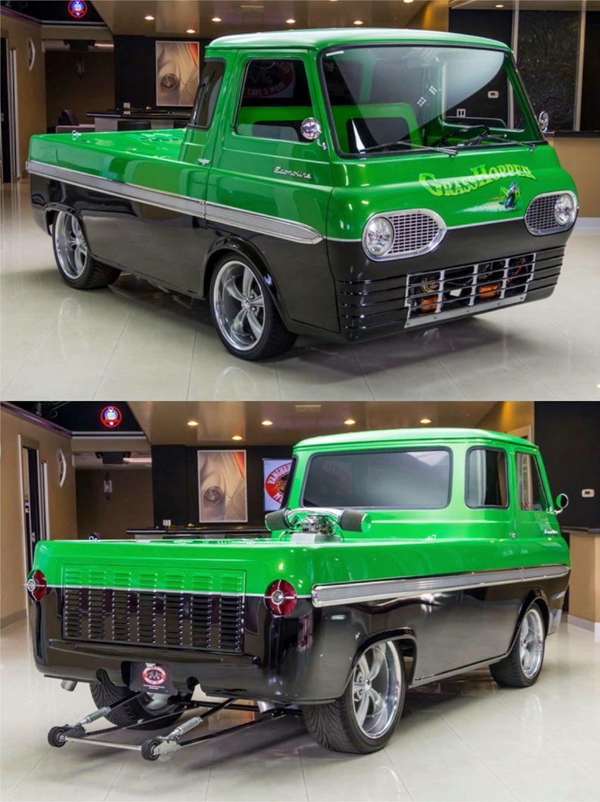 8af0a03485 65 Ford Econoline pickup truck....