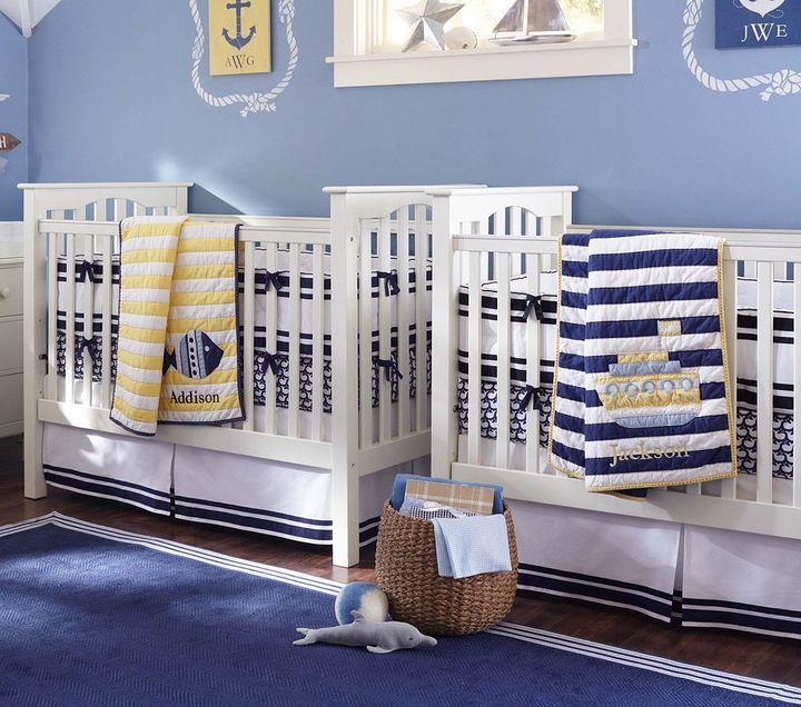 Oceanside Nursery Bedding Set Thestylecure Com Nautical