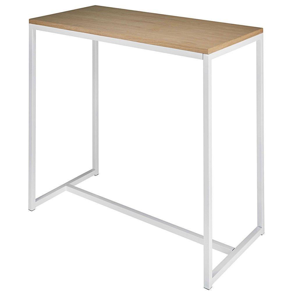 Bar Table Haute White Metal Bar Table L120 Our New Flat Ideas Pub Table Sets