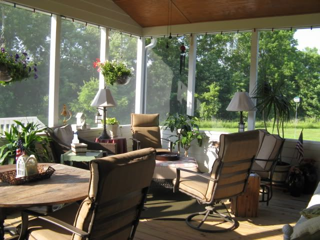 Screened Patio Curtain Decorating Ideas | Here is a link that ...