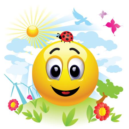 Smiley in a Clean Environment | Smiley, Emoticon, Love smiley