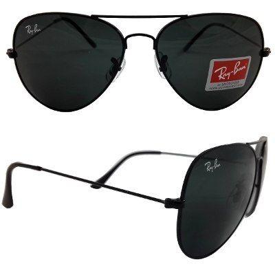 Oculos Ray Ban Rayban Ray Bam Aviador Marculino Feminino - R  59,90 ... 5498d11f4c