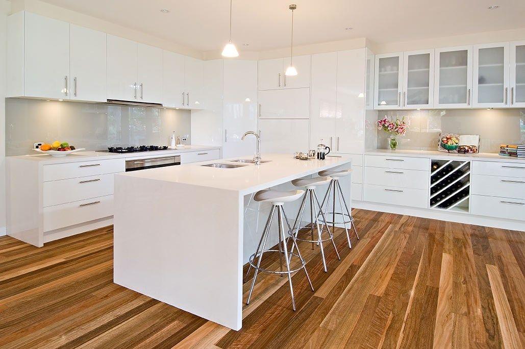 Classic Kitchen Modern kitchen design with hidden