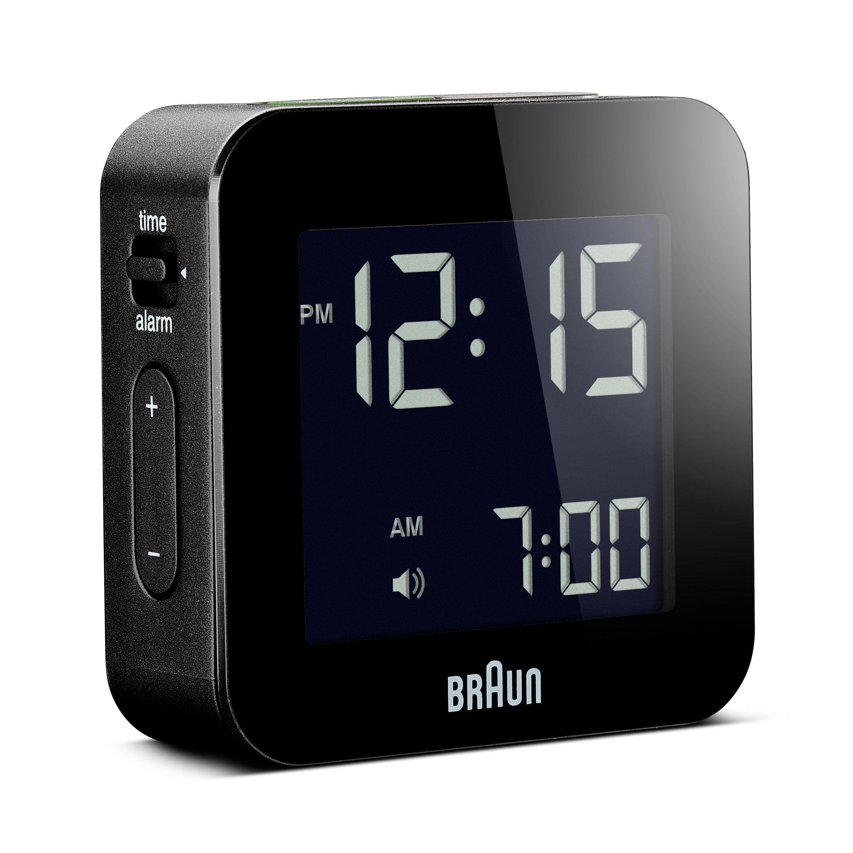Braun Digital Travel Alarm Clock Black Braun Digital Travel Alarm Clock Black Alarm Black Braun Cl In 2020 Travel Alarm Clock Clock