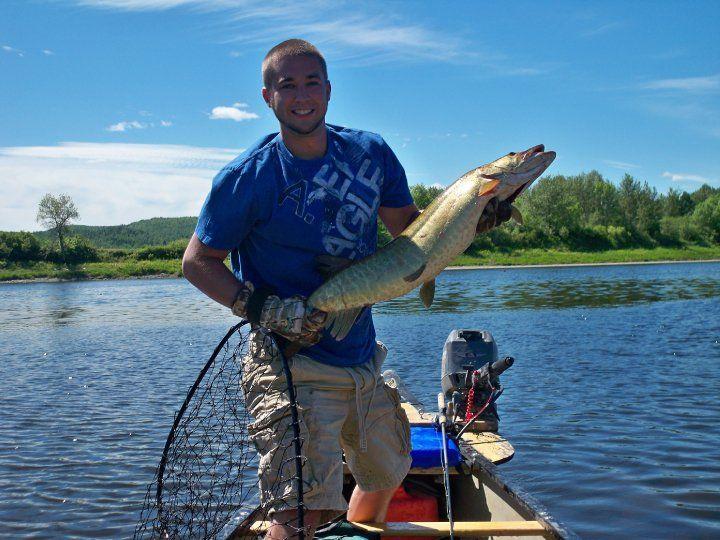 maine muskie kent daigle fort corey caught musky uploaded user fish muski fishing