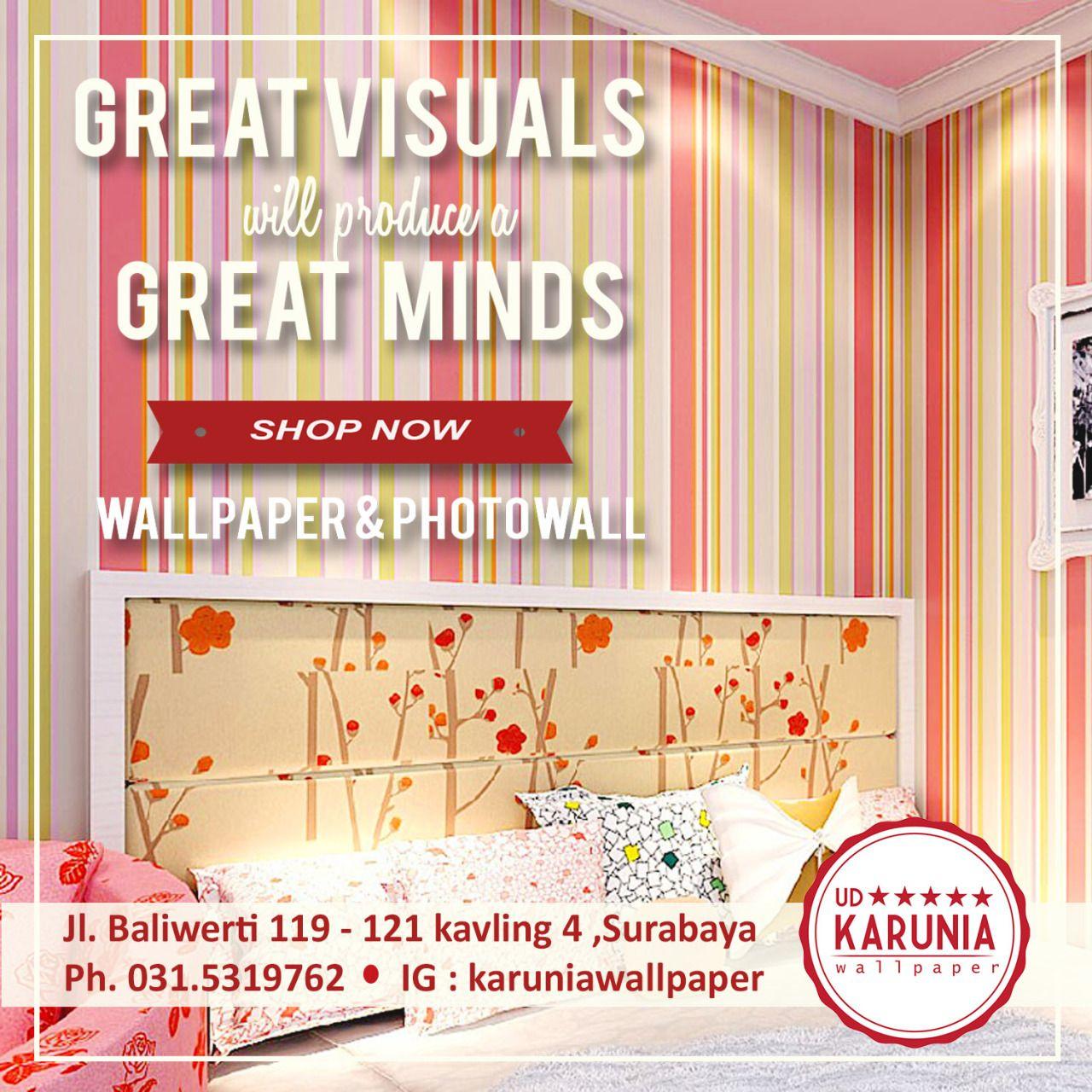 Jual Wallpaper Dinding Surabaya Cantik UD Karunia Wallpaper