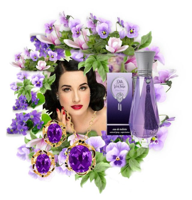 """""""Fleur Teese Dita Von Teese"""" by m-kints ❤ liked on Polyvore featuring art"""