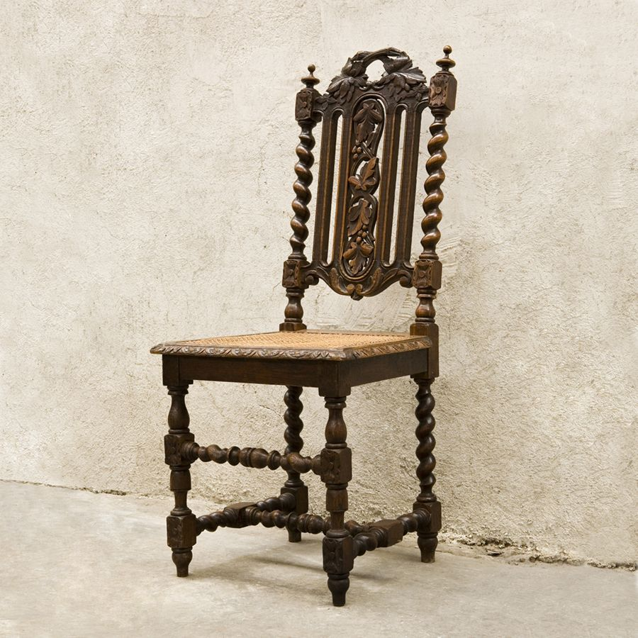 Antique French Renaissance chairs in the Hunting style. The set of 6 oak  antique dining chairs dates to 1880. EuroLuxHome.com | Pinterest | Dining  chairs, ... - Antique French Renaissance Chairs In The Hunting Style. The Set Of