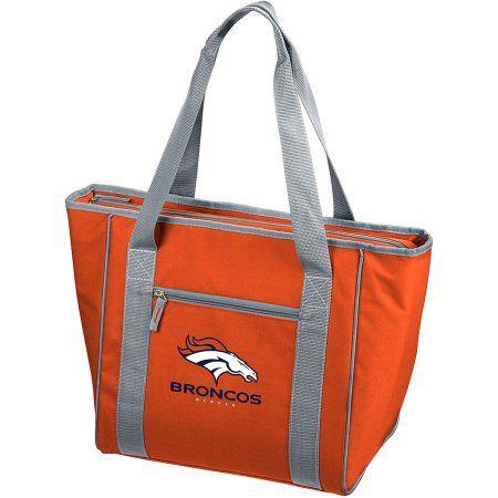 Logo NFL Denver Broncos 30-Can Cooler Tote, Orange