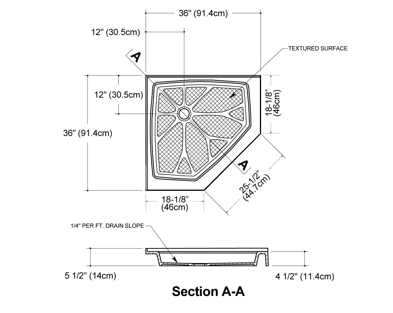 corner shower dimensions google search bedroom bathroom reno corner shower diagram [ 1540 x 1225 Pixel ]