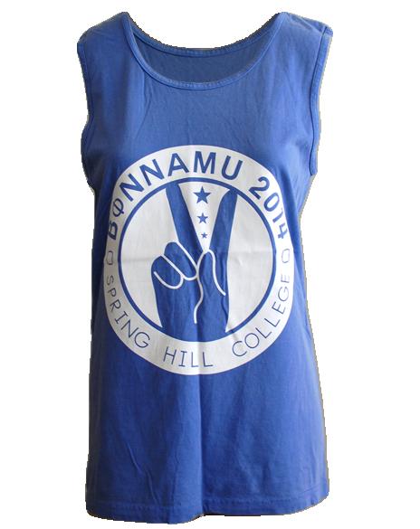 Phi Mu Bonnamu Peace Tank by Adam Block Design | Custom Greek Apparel & Sorority Clothes | www.adamblockdesign.com