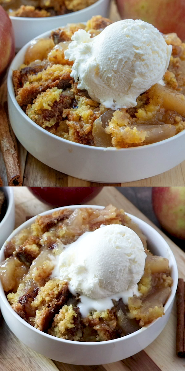 Apple Cobbler Dump Cake