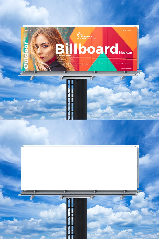 Free Modern Billboard Mockup Billboard Mockup Billboard Mockup