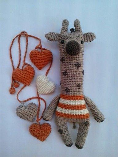 Jirafa Pairus amigurumi www.migusamigurumis.com   Knit & Crochet ...