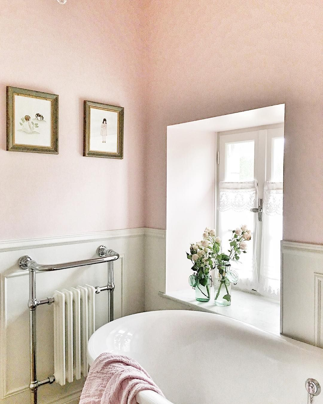 20 Pink Bathrooms That Are Positively Swoon Worthy Hunker French Country Bathroom Pink Bathroom French Country Bedrooms