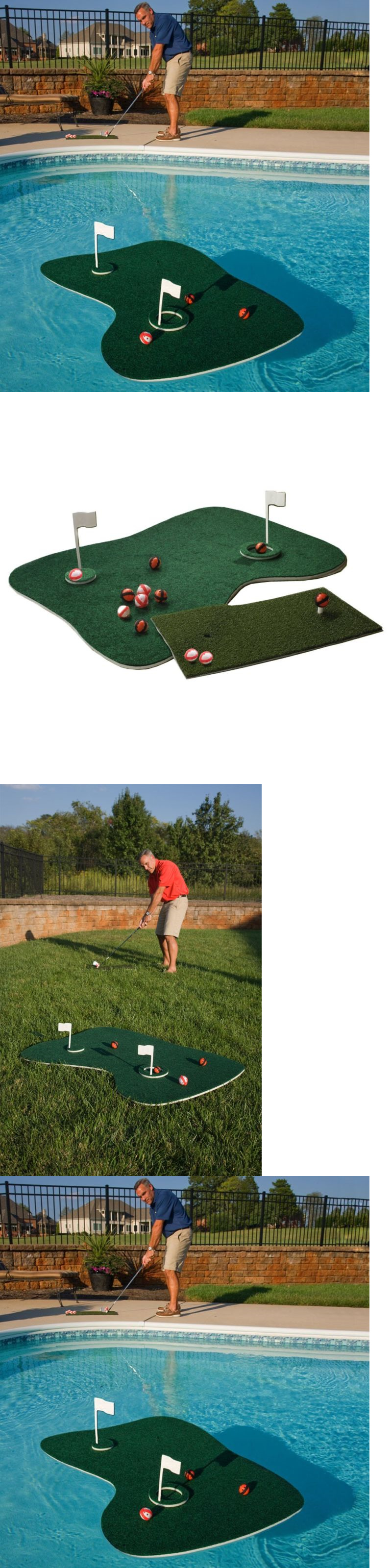 Putting Greens and Aids Genuine Aqua Golf Backyard Game