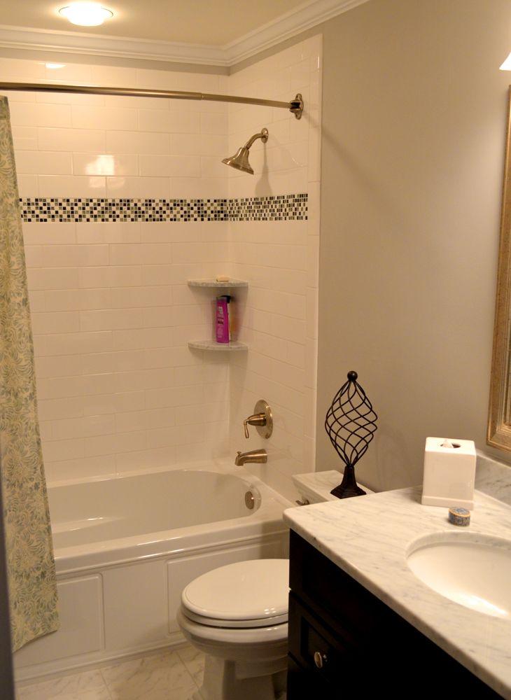 Bathroom Remodeling With Carrara Marble Floor And Vanity Top Enchanting Bathroom Remodeling Annapolis