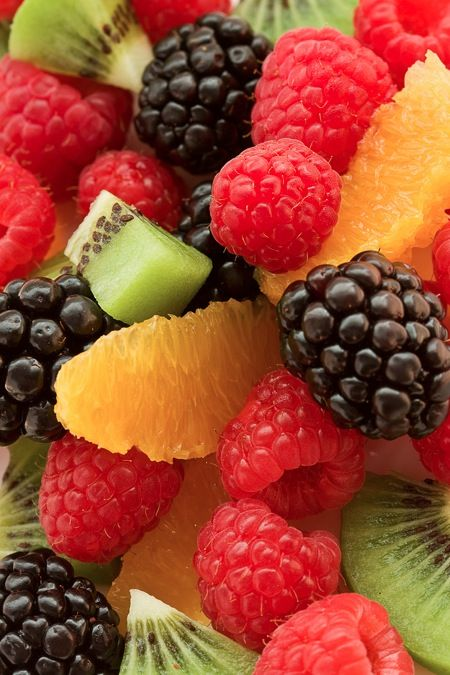 Mom always finishes the BBQ with a killer fresh fruit salad #saveur that includes guanabana and guava juice.