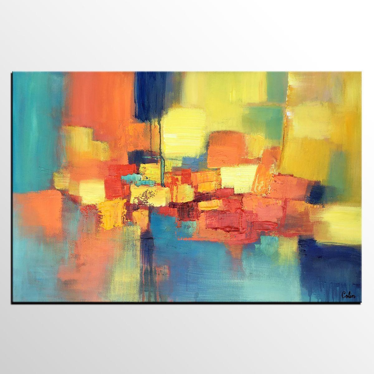 Abstract art for sale original wall art canvas art painting buy art online