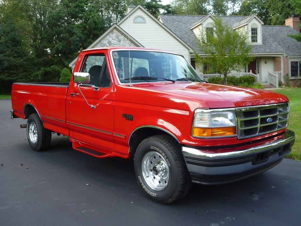 1996 Ford F 150 Ford Ford Trucks Ford Motor Company