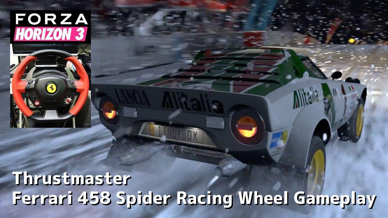 7 Forza Horizon 3 Blizzard Mountain Racing Wheel Gameplay