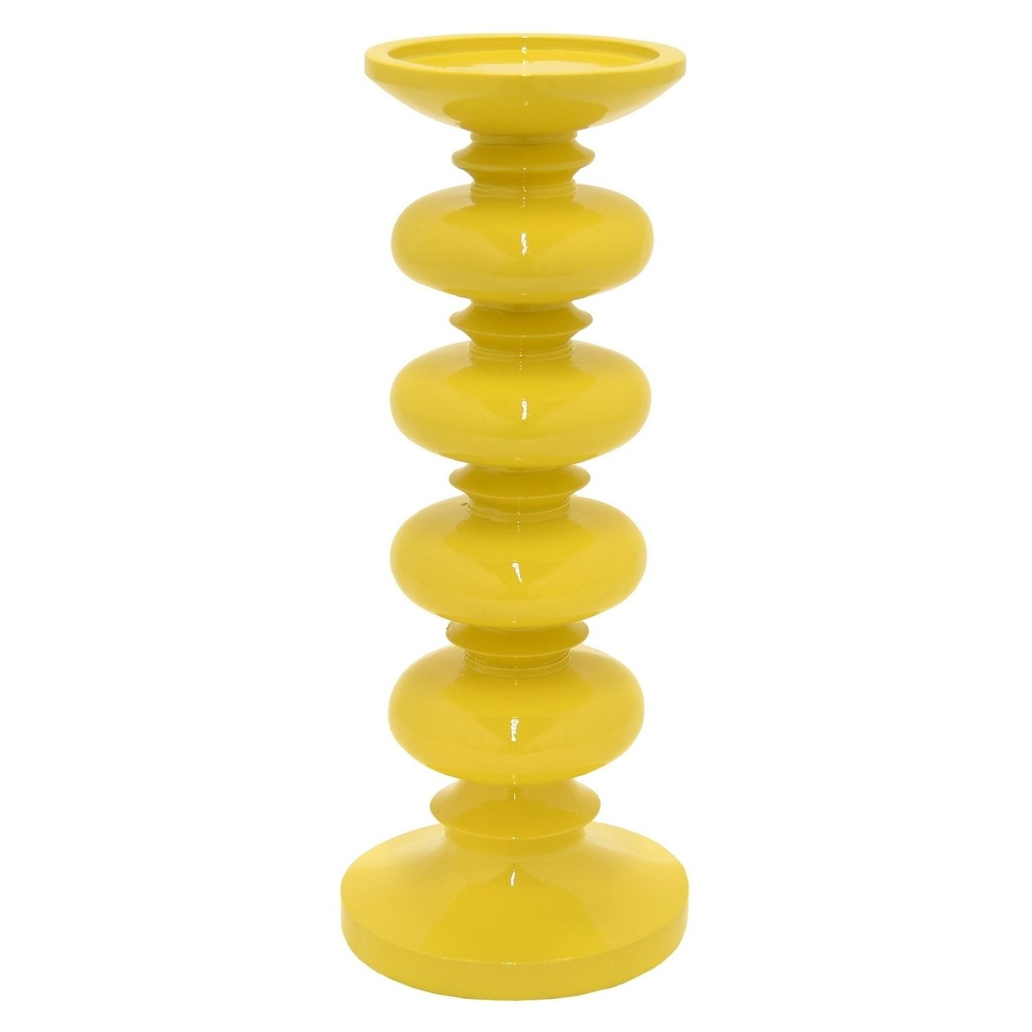 Three hands candle holder yellow products pinterest outlet