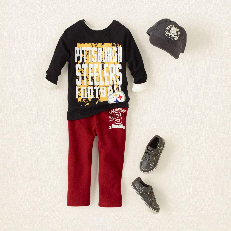 baby boy outfits go steelers LittleHandsome Pinterest