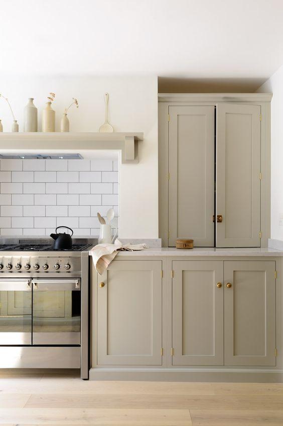 Note The Hood Area John S Idea Shaker Style Kitchen Cabinets
