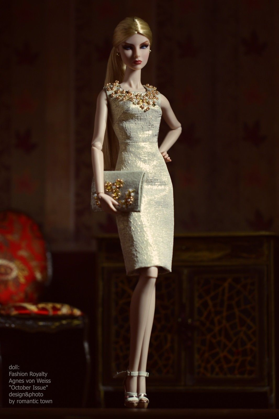 Elenpriv OOAK Outfit for Fashion Royalty FR2 Doll Clothes 15 eBay 84