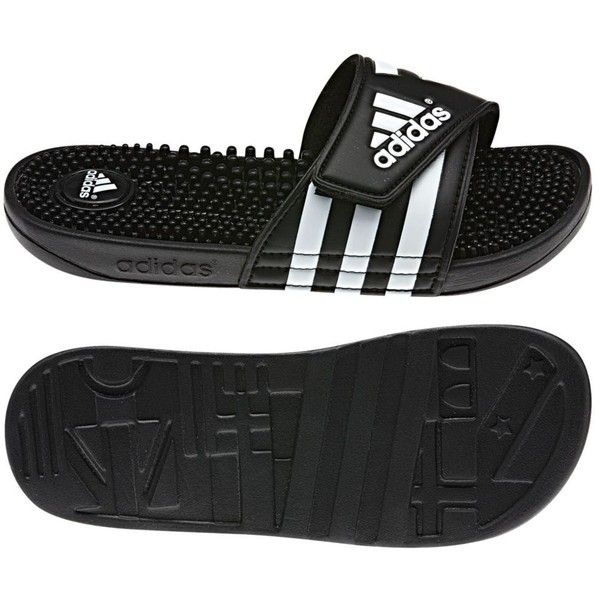 344447561bbb6b Adidas adissage Slides (€26) ❤ liked on Polyvore featuring shoes ...