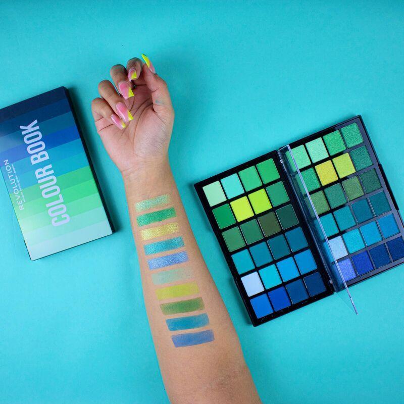 Makeup Revolution Colour Book Eyeshadow Palette Cb05 Makeup Revolution Shadow Palette Drugstore Eyeshadow