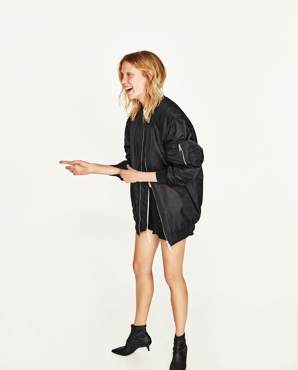 Oversize Bomber Ceket Bomber Outfit Bomber Jacket Outfit Bomber Jacket Fashion