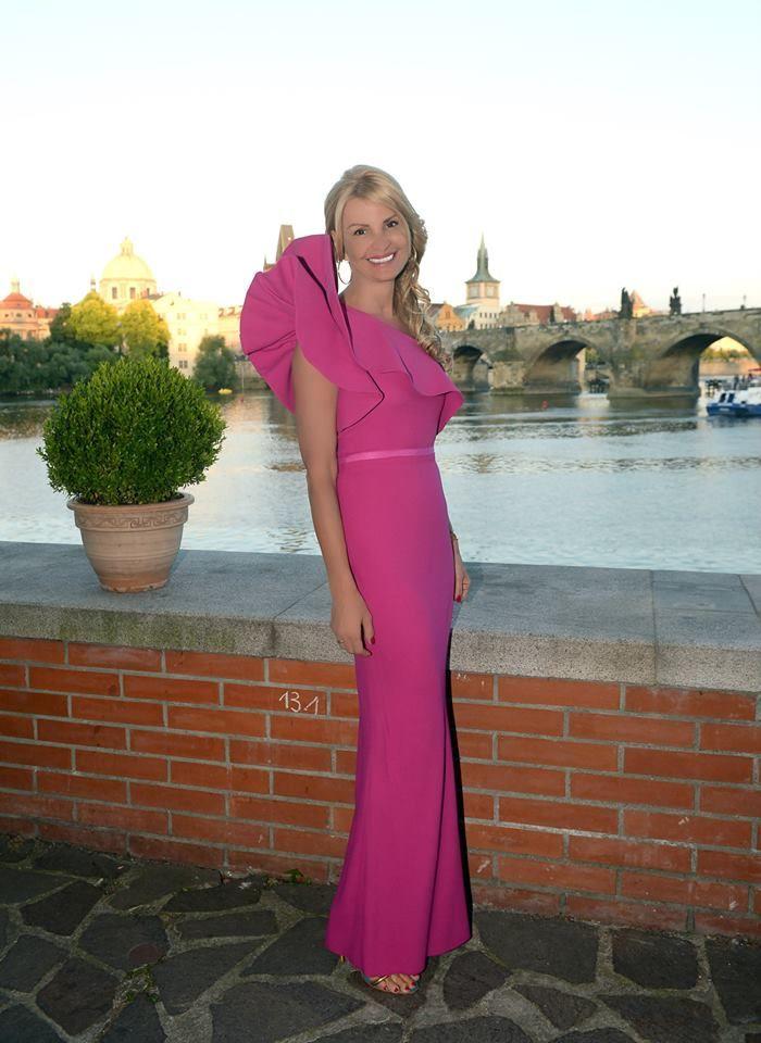 Tamara Kotvalová dress: Lanvin
