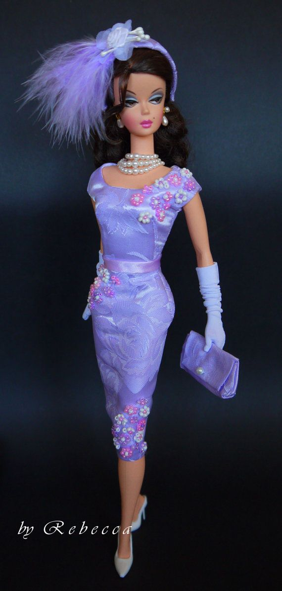 Ooak Fashion For Silkstone Barbie By Rebecca Fashion