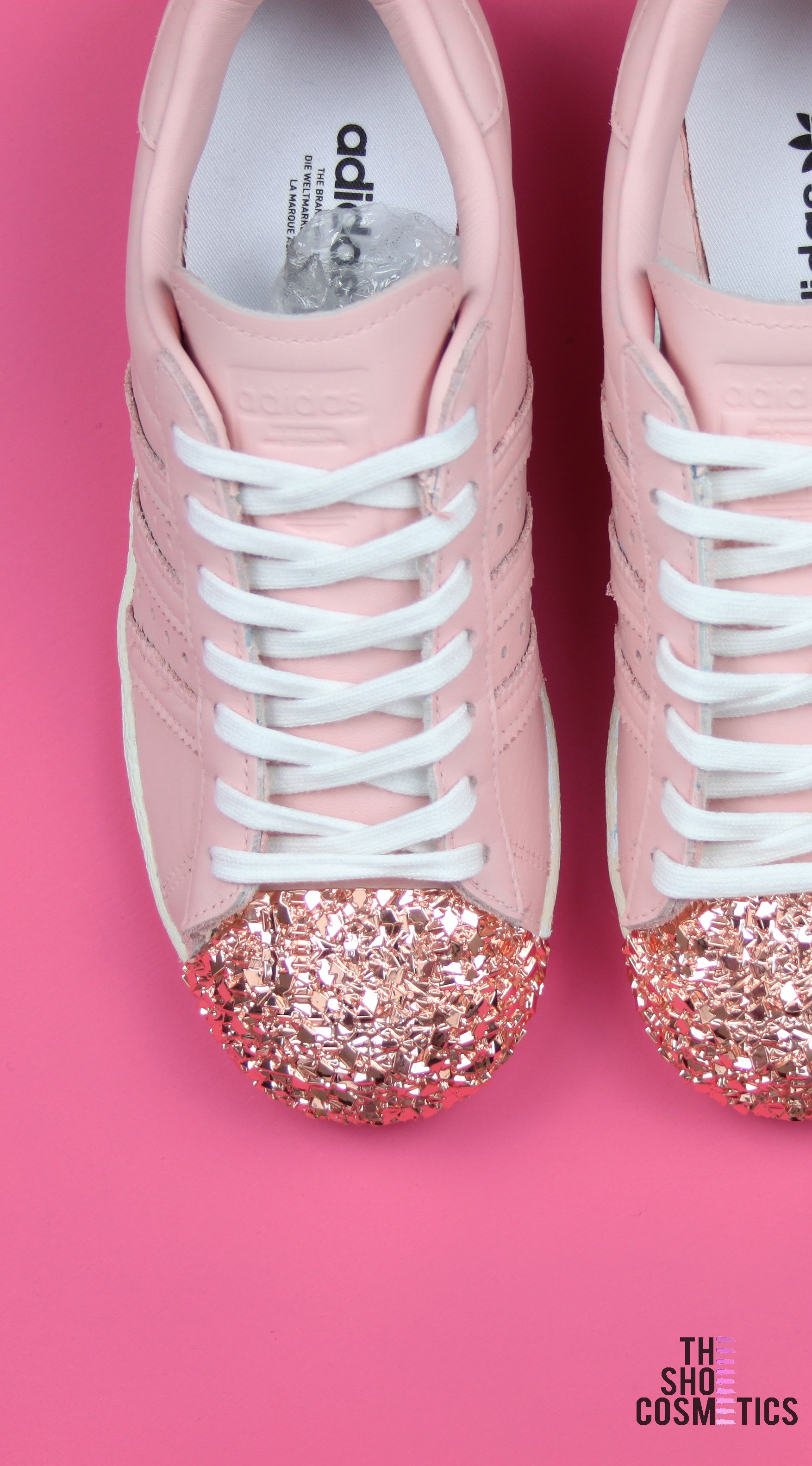 adidas rose gold toe
