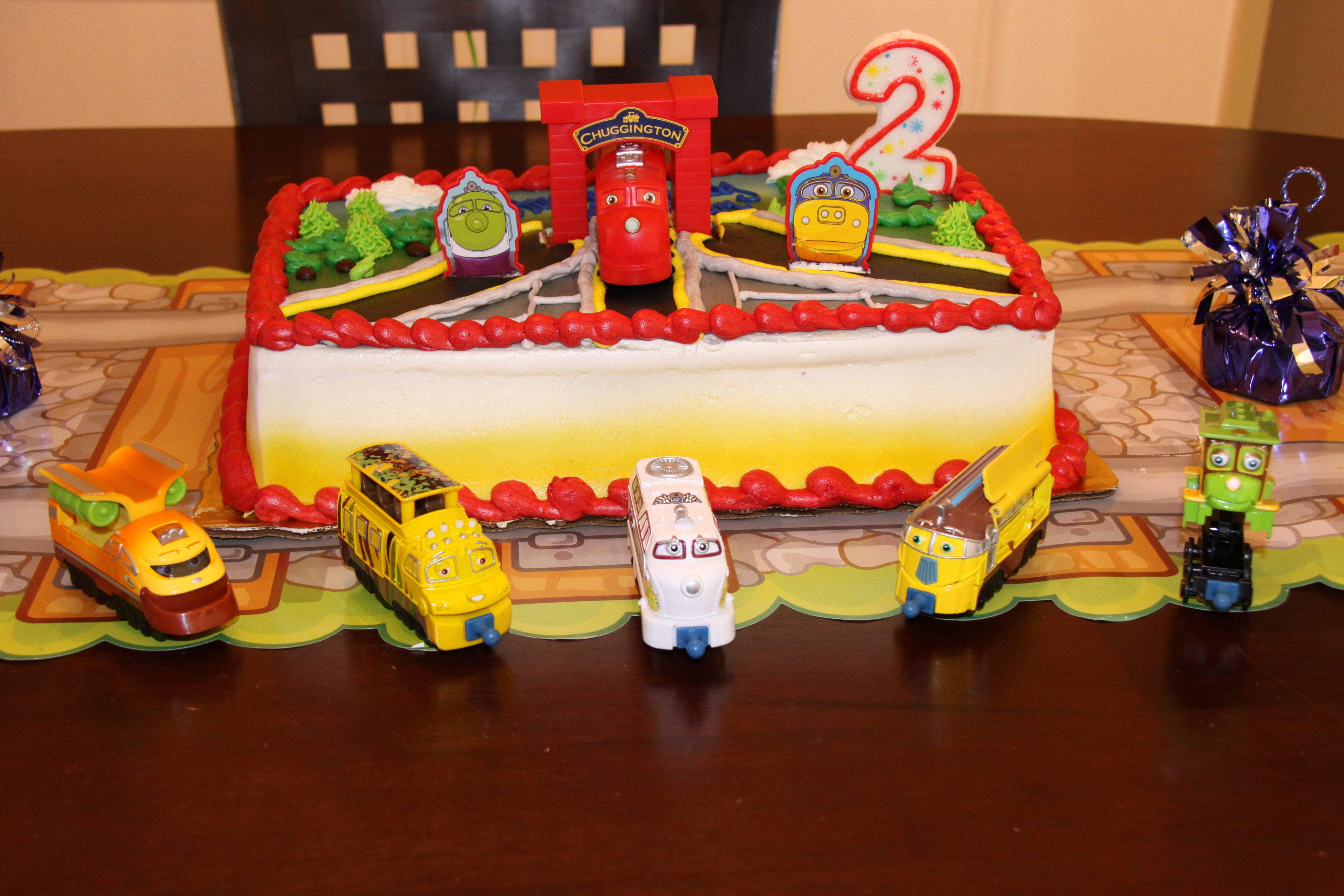 Chuggington Birthday Cake From Publix Bakery Chuggington Train - Chuggington birthday cake