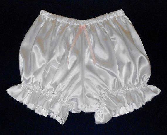 7c29e79537b Adult Sissy Baby Satin Petti Pants mini Bloomers Panties Manties in ...