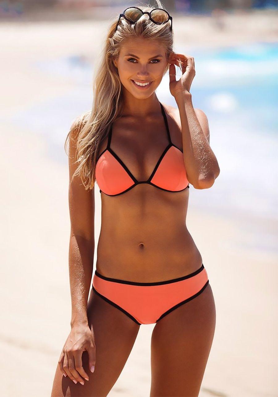 Natalie Jayne Roser Bikinis Enterizas Tangas Playa