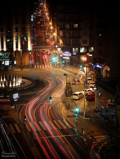 Traffic Lights of Puerta Zamora (Salamanca, Spain) by Marcos Hét