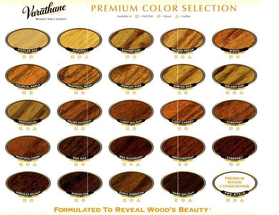 Image Result For Varathane Wood Stain Colors