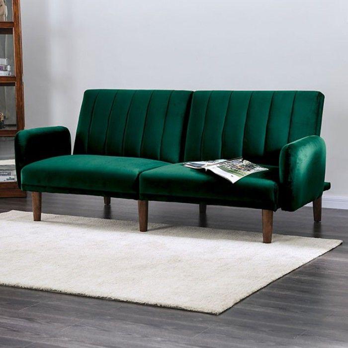 Pleasing Cm2608Gr Adrianne Green Flannelette Fabric Folding Futon Evergreenethics Interior Chair Design Evergreenethicsorg