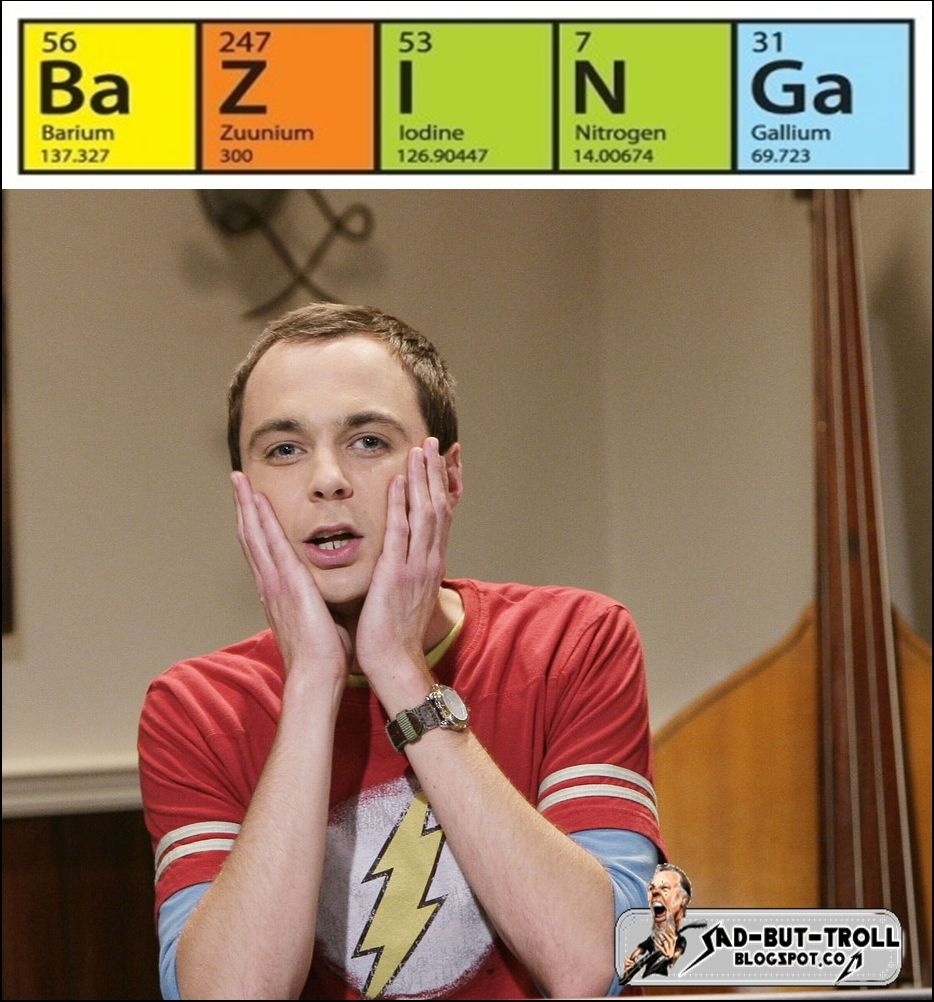 Sheldon Lee Cooper: favorite geek