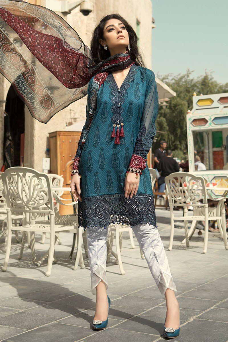 d0a8ceea93 Latest Maria B Spring Summer Luxury Lawn Collection 2018-2019 ...