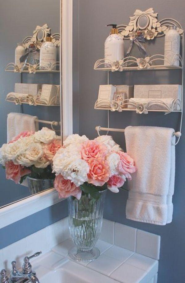 13 Gorgeous and Feminine Shabby Chic Bathroom Ideas Bedrooms